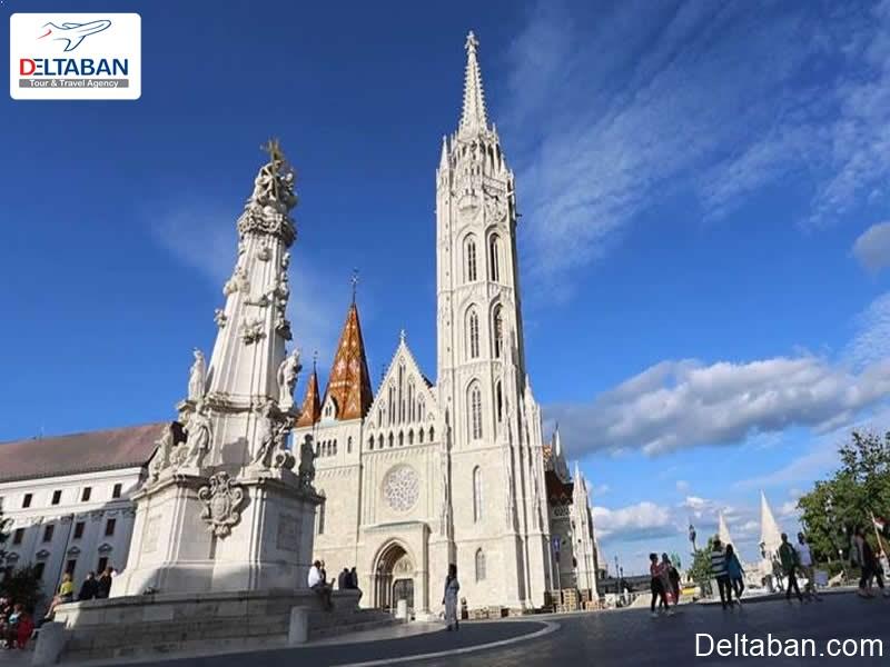 کلیسای ماتیاس از قدیمی ترین کلیساهای بوداپست