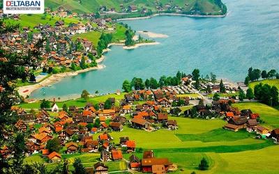 چشمه های آب گرم سوئیسی از دلایل سفر به سوئیس