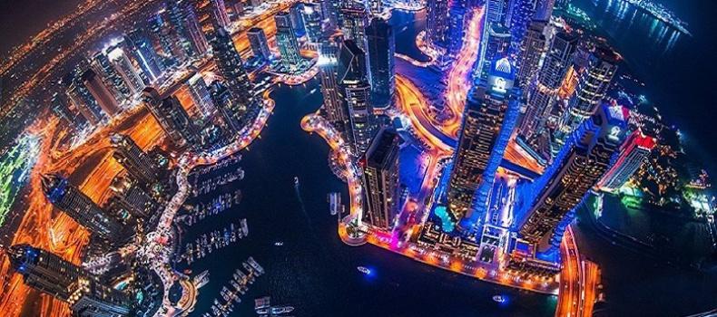 خیابان های دبی