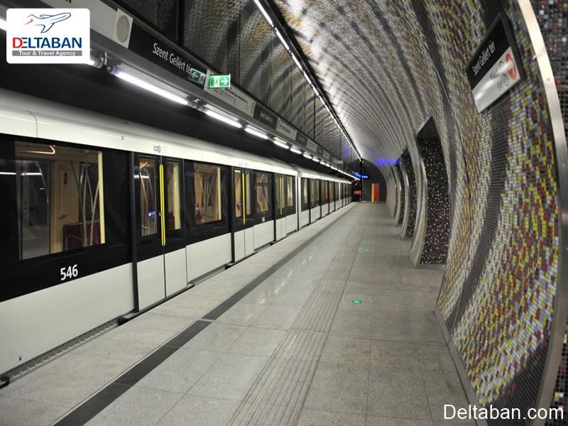 قدیمی ترین سیستم مترو در اروپای مرکزی