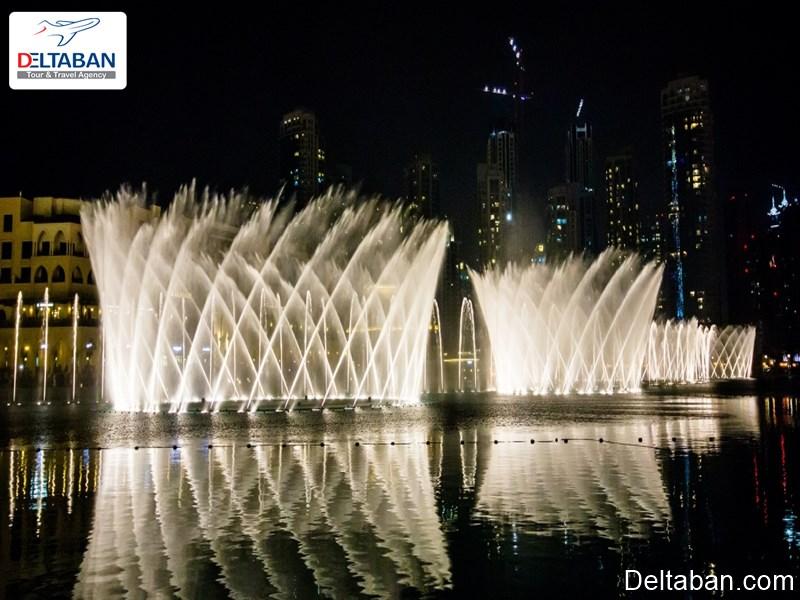 آبنمای شهر دبی