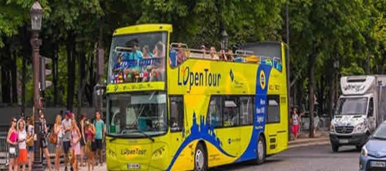 تور های اتوبوسی پاریس