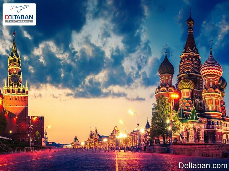 بررسی هزینه های سفر به مسکو