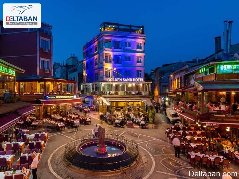 اقامتگاه های استانبول