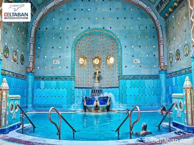 چشمه های آب گرم از نکات مهم بوداپست