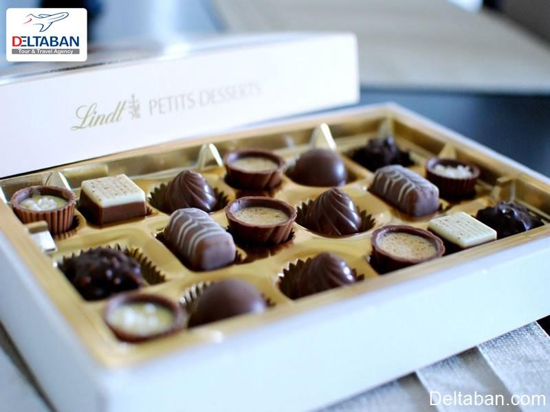 طعم شکلات سوئیسی