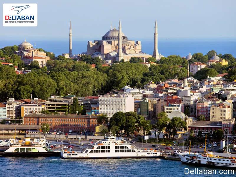 محله سلطان احمد بهترین منطقه برای گرفتن هتل در استانبول