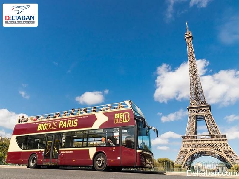 تورهای اتوبوسی پاریس
