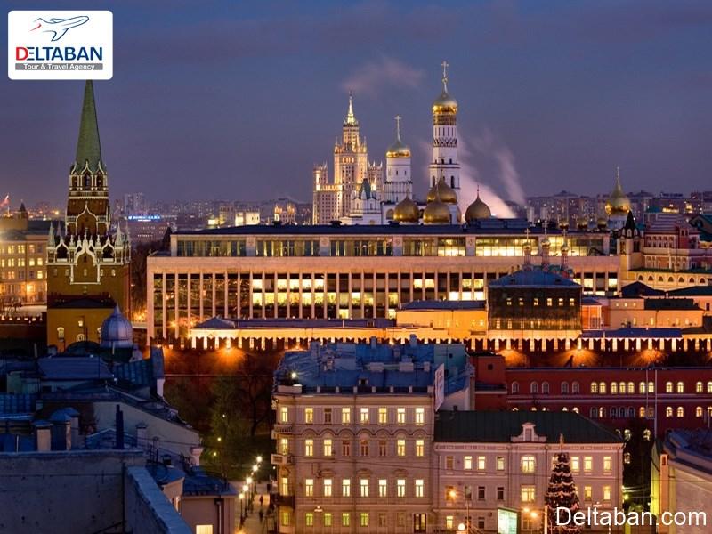 هزینه حمل و نقل در هزینه های سفر به مسکو