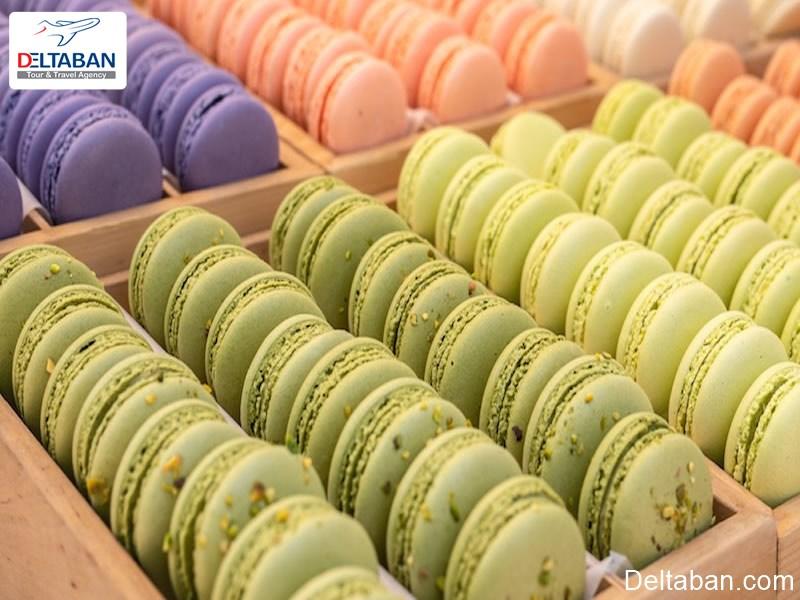 شیرینی ماکارون فرانسوی