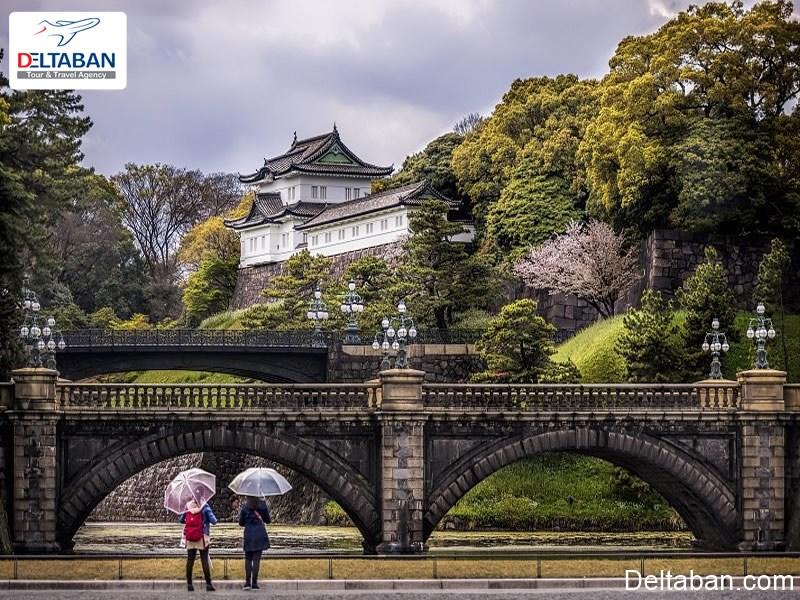 زمان لازم برای بازدید از جاذبه های تاریخی توکیو