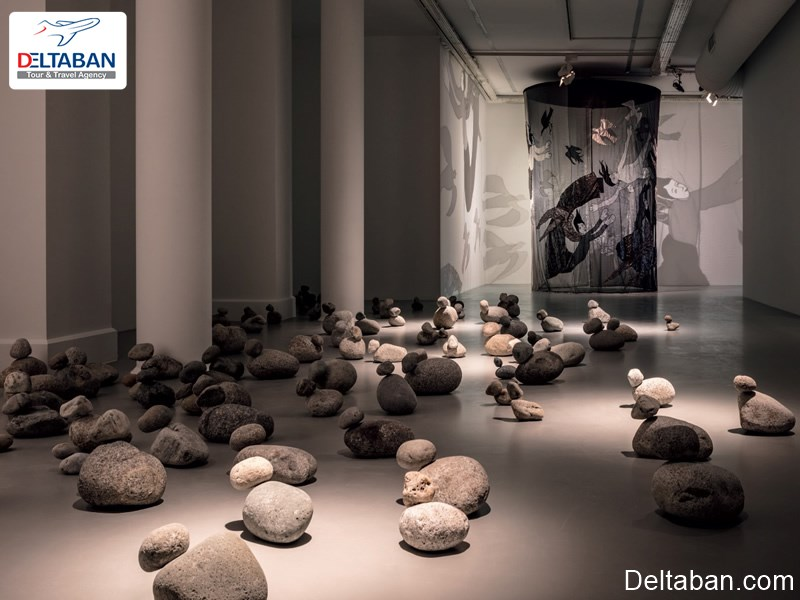 نمایشگاه هنرهای تجسمی Mount Qaf در استانبول