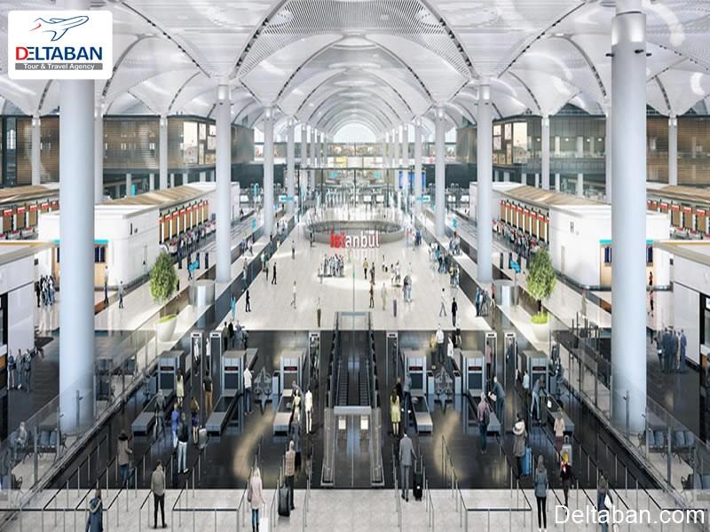 تصویری از فرودگاه جدید استانبول
