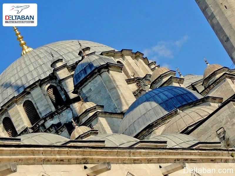معماری نمای بیرون مسجد