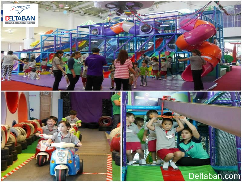 Playtime؛ زمین بازی از تفریحات بانکوک