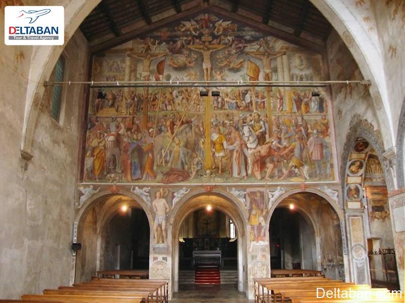 سانتا ماریا دلی آنجلی از مکان های تاریخی و باستانی لوگانو