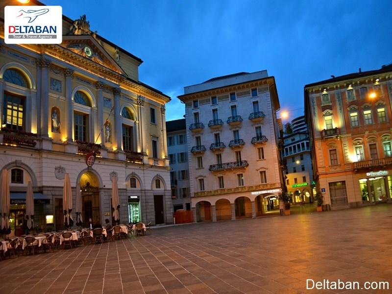 قسمت قدیمی لوگانو از مکان های تاریخی و باستانی لوگانو