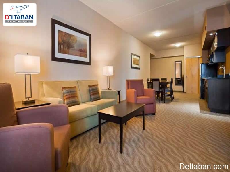 انواع اتاق های هتل بست وسترین