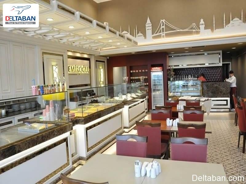 Emiroğlu Baklavacısı از بهترین فروشگاه های باقلوای استانبول