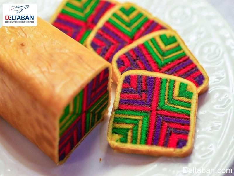 کیک ساراواک پای از دسرهای کوالالامپور
