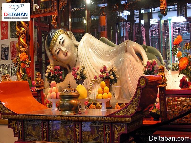 معبد جید بودا از جاذبه های تاریخی چین