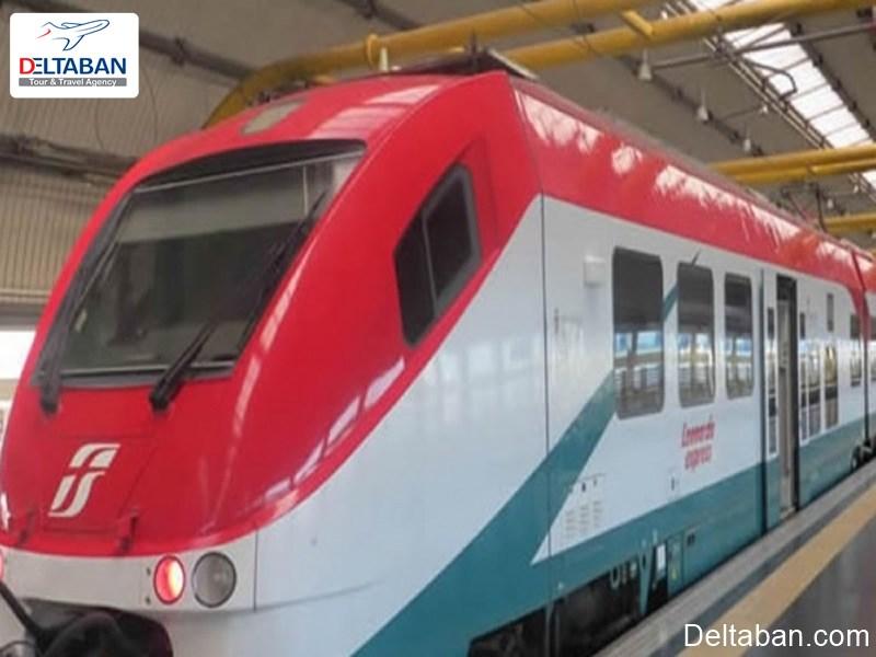 قطار از سرویس های حمل و نقل فرودگاه رم