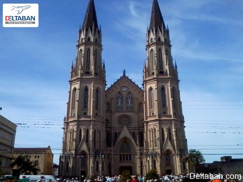 کلیسای جامع سائوجائوباتیستا در شهر فوزدوایگواسو
