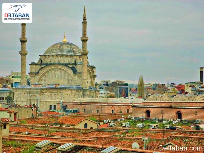 بازار بزرگ بهترین منطقه برای گرفتن هتل در استانبول