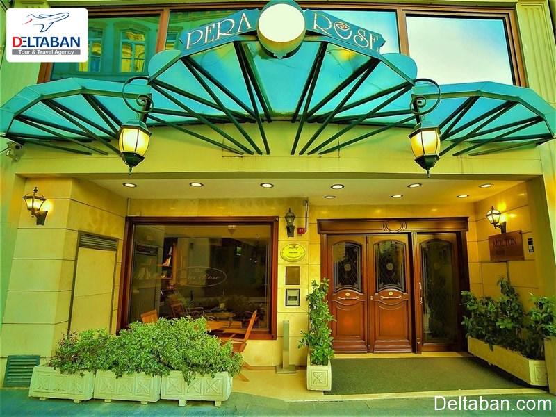 نمای بیرونی یک از هتل های استانبول