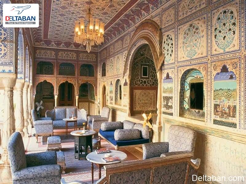 کاخ سامودی از کاخ های شهر جیپور