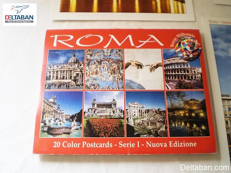 کتاب عکس از سوغاتی های ایتالیا