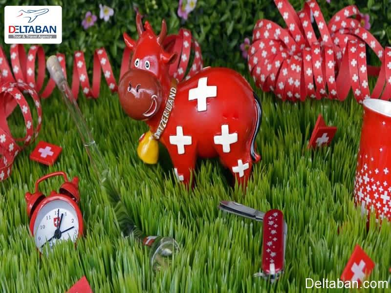 سوغاتی های جالب از دلایل سفر به سوئیس