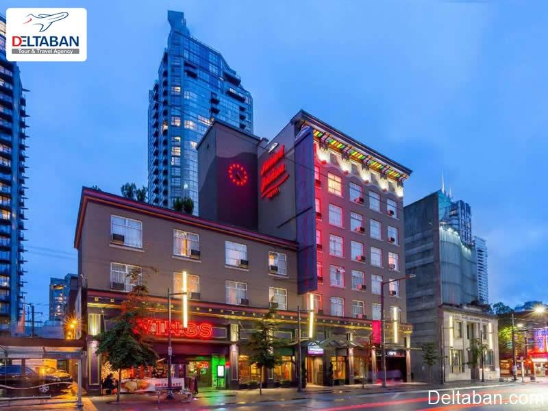 Howard Johnson Hotel از هتل های ونکوور