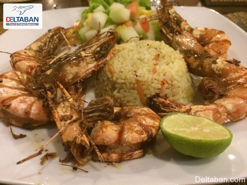 مهم ترین غذاها در شهر ساحلی