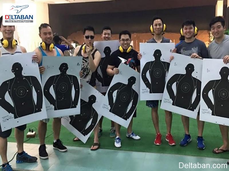 تیراندازی و نشانه گیری از تفریحات بانکوک