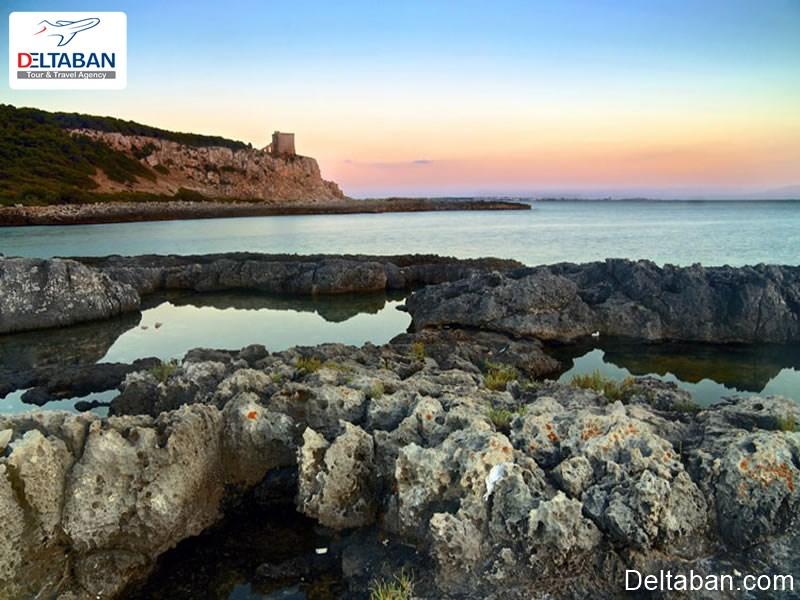 خلیج پورتو سلواگو، ناحیه پولیا واقع در جنوب ایتالیا