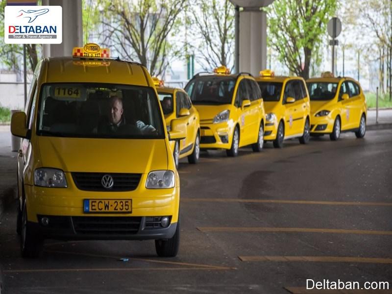 استفاده از تاکسی های فرودگاه بوداپست