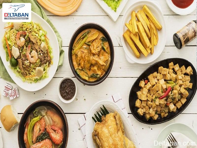 معرفی غذاهای سنتی مانیل