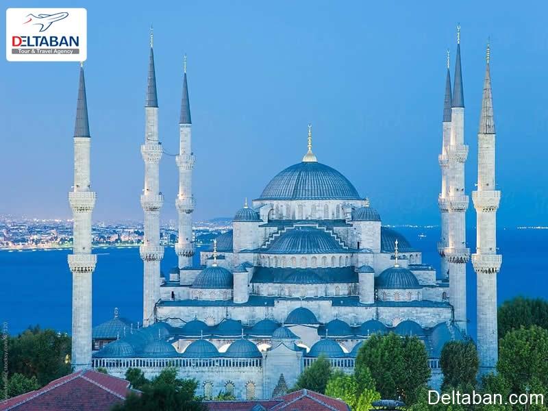 مسجد سلطان احمد معروف به مسجد آبی