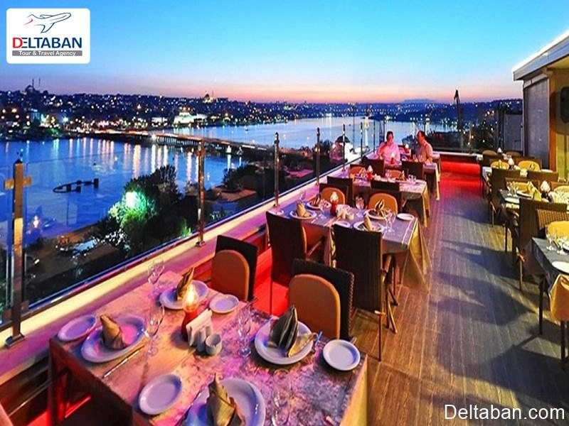 رستوران 360 از بهترین رستوران های تکسیم