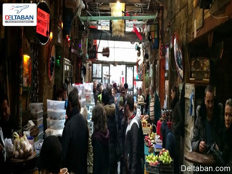 یکشنبه بازار سیملا کرت یکی از بازارهای محلی بوداپست