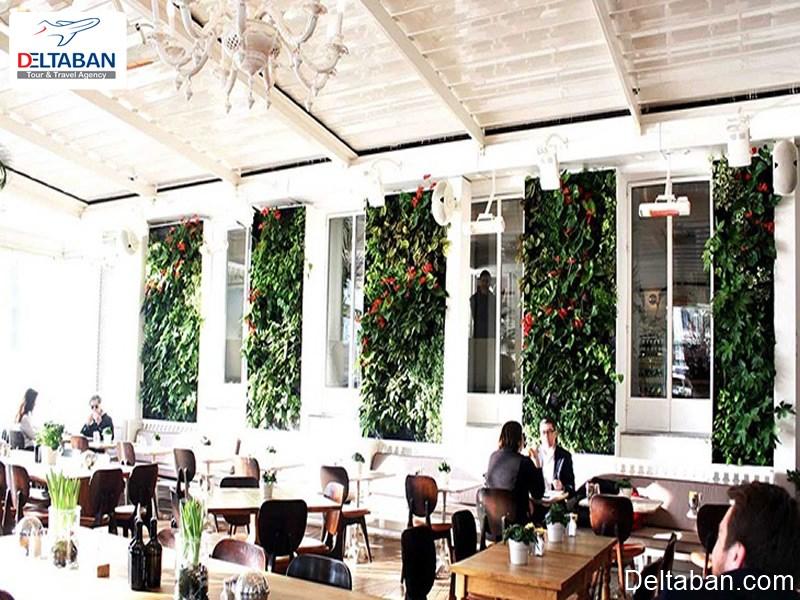 هاوس کافه از بهترین رستوران های تکسیم