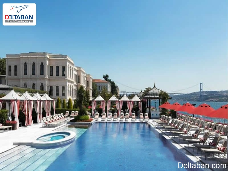 هتل کاخ سفید از لوکس ترین هتل های استانبول