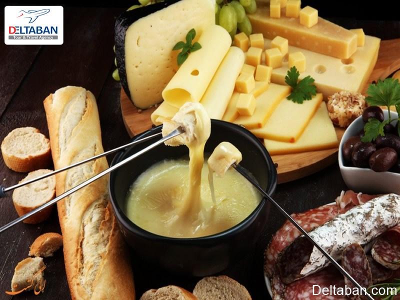 تاریخچه فوندوی پنیر