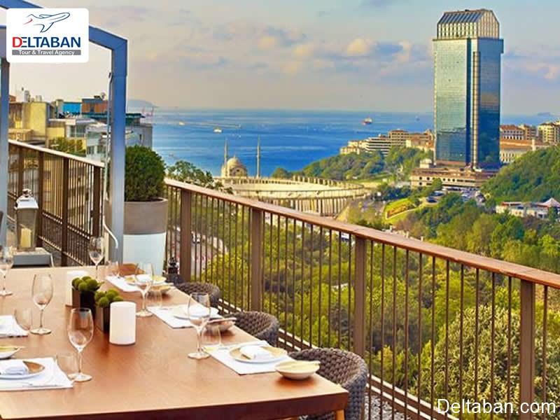 هتل ابراهیم پاشا از لوکس ترین هتل های استانبول