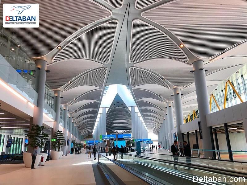 محوطه فرودگاه جدید استانبول
