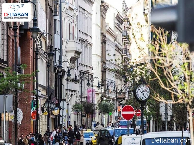 بارتوک بلا از معروف ترین خیابان های بوداپست