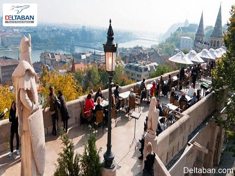 هلشباستیا (Halaszbasta restaurant) از لوکس ترین رستوران های بوداپست
