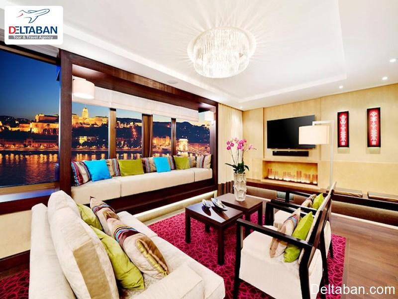 اتاق های هتل اینترکانتیننتال بوداپست
