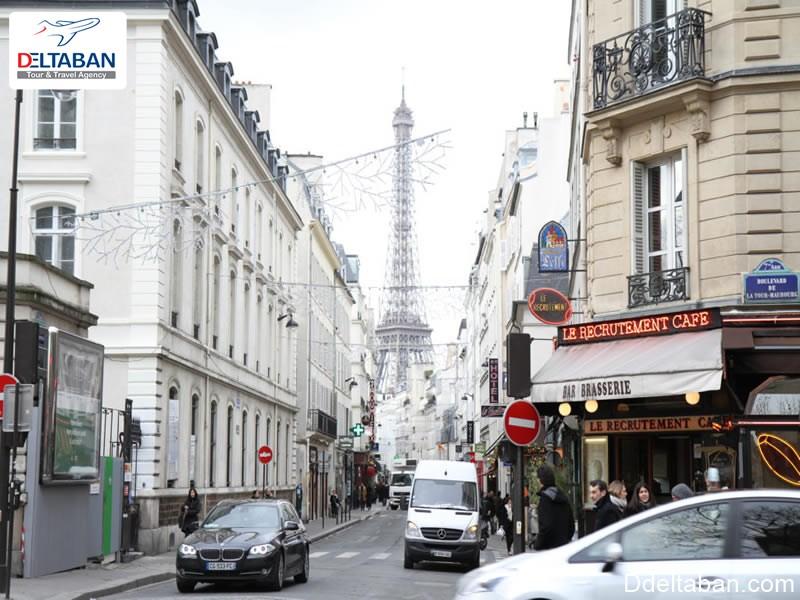 خیابان های معروف فرانسه